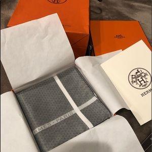 Hermes pocket square